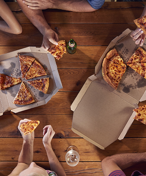 Pizza with Friends